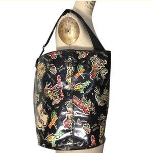 Lulu Guinness bucket bag